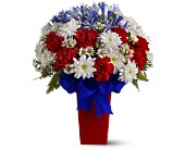 Patriotic Petals Bouquet in Highland IN, Brumm's Bloomin Barn