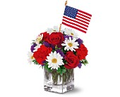 Freedom Bouquet by Teleflora in Utica NY, Chester's Flower Shop And Greenhouses