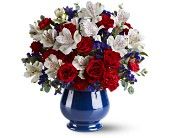 Sweet Liberty Bouquet in Fairfield CT, Town and Country Florist