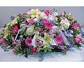 Casket Spray in Lower Gwynedd, Pennsylvania, Valleygreen Flowers and Gifts