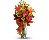 Burst of Autumn in San Clemente CA, Beach City Florist