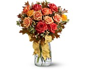 Graceful Autumn Roses in San Clemente CA, Beach City Florist