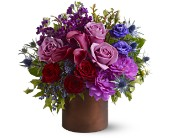 Teleflora's Plum Gorgeous in Cambria Heights NY, Flowers by Marilyn, Inc.