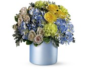 Teleflora's Heavenly Hues Bouquet in Canisteo NY, B K's Boutique Florist