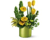 Teleflora's Citrus Sunshine Bouquet in Canisteo NY, B K's Boutique Florist