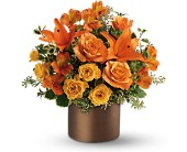 Teleflora's Sunset Glow in Cairo NY, Karen's Flower Shoppe