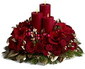 Rancho Cordova Flowers - Carols by Candlelight - Arden Park Florist