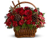 Holiday Spice Basket in Bellevue WA, Bellevue Crossroads Florist