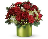 Teleflora's Holiday in Style in Cambria Heights NY, Flowers by Marilyn, Inc.