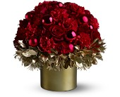 Teleflora's Golden Holly-Day in Fair Haven, New Jersey, Boxwood Gardens Florist & Gifts