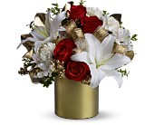 Teleflora's 24 Karat Bouquet in Fredericton NB, Flowers for Canada
