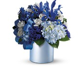 Teleflora's Blue Blooms in Maple ON, Jennifer's Flowers & Gifts