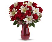 Teleflora's Elegant Love Bouquet - Deluxe in El Paso TX, Executive Flowers