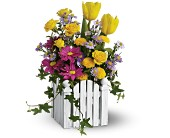 Teleflora's Picket Fence Bouquet in Ammon ID, Petal Passion