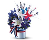 Vote Blue Bouquet in Staten Island NY, Eltingville Florist Inc.