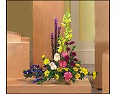 Liatris and Snapdragon Arrangement in Mississauga ON, Orchid Flower Shop