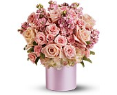 Teleflora's Pinking of You Bouquet in Liverpool NY, Creative Florist
