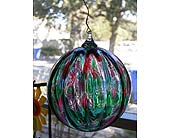 Blown Glass Ornament in Templeton CA, Adelaide Floral