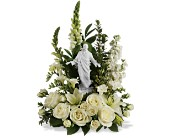 Teleflora's Garden of Serenity Bouquet in Charleston SC, Creech's Florist