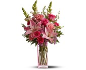 Teleflora's Pink Wink in Oklahoma City OK, Howard Brothers Florist