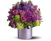 Teleflora's Purple Reign in New York NY, Solim Flower