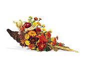 Brighton Flowers - Cornucopia Centerpiece - Watertown Main St. Florist, LLC