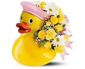 Teleflora's Just Ducky Bouquet - Girl in Charlotte NC, Starclaire House Of Flowers Florist
