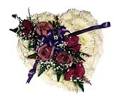Casket Heart Insert 1 in Waterbury CT, The Orchid Florist