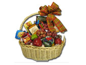 EXTRA-LARGE FRUIT & GOURMET BASKET by Rubrums in Ossining NY, Rubrums Florist Ltd.