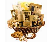 Golden Celebration Gift Basket in Sioux Falls SD, Country Garden Flower-N-Gift