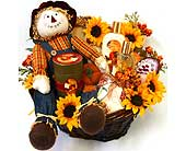 GB284 ''A Touch of Fall'' Bath & Body Gift Basket in Oklahoma City OK, Array of Flowers & Gifts