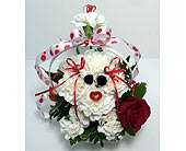 Valentine Puppy Dog in Big Rapids, Cadillac, Reed City and Canadian Lakes MI, Patterson's Flowers, Inc.