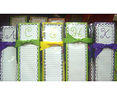 Initial Note Pads with Magnets in Tuscaloosa AL, Amy's Florist