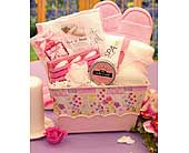Perfectly Pampered Spa Gift Set in Oak Hill WV, Bessie's Floral Designs Inc.