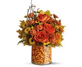 Teleflora's Candy Corn Surprise Bouquet in Zeeland MI, Don's Flowers & Gifts