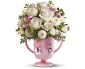 MiGi's Baby Circus Bouquet by Teleflora - Pink in Aston PA, Wise Originals Florists & Gifts