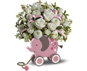 MiGi's Baby Elephant Bouquet by Teleflora - Pink in South San Francisco CA, El Camino Florist