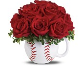 Teleflora's Play Ball Bouquet Deluxe in Philadelphia PA, Schmidt's Florist & Greenhouses
