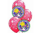 EBB6 ''Easter Wishes'' Balloon Bouquet in Oklahoma City OK, Array of Flowers & Gifts