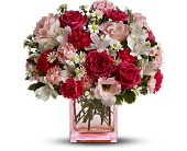 Teleflora's Pink Dawn Bouquet - Deluxe in Ruidoso NM, Ruidoso Flower Shop