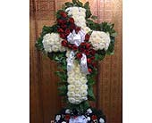 Cross with Rose Break in Staten Island NY, Eltingville Florist Inc.