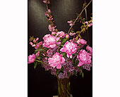 Think Pink in New York NY, Fellan Florists Floral Galleria