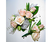 Mini spray rose corsages and boutonni�re in South Surrey BC, EH Florist Inc
