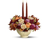Lenox Sauce Server Bouquet by Teleflora - Deluxe in Loudonville OH, Four Seasons Flowers & Gifts