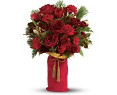 Teleflora's Holiday Wishes Bouquet - Deluxe in Woodbridge VA, Lake Ridge Florist