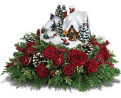 Thomas Kinkade's Sleigh Ride Bouquet by Teleflora in Chattanooga TN, Chattanooga Florist 877-698-3303