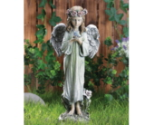 Angel with Bird in Royal Oak MI, Affordable Flowers