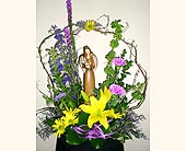 Country Garden Angel in Rock Island IL, Colman Florist