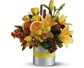 Teleflora's Top Chef Citrus in Bucyrus OH, Etter's Flowers