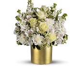 Teleflora's Champagne & Gold - Deluxe in Aston PA, Wise Originals Florists & Gifts